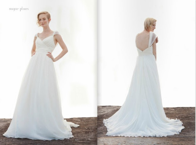 2013 chiffon Wedding Dresses From Ivy And Aster