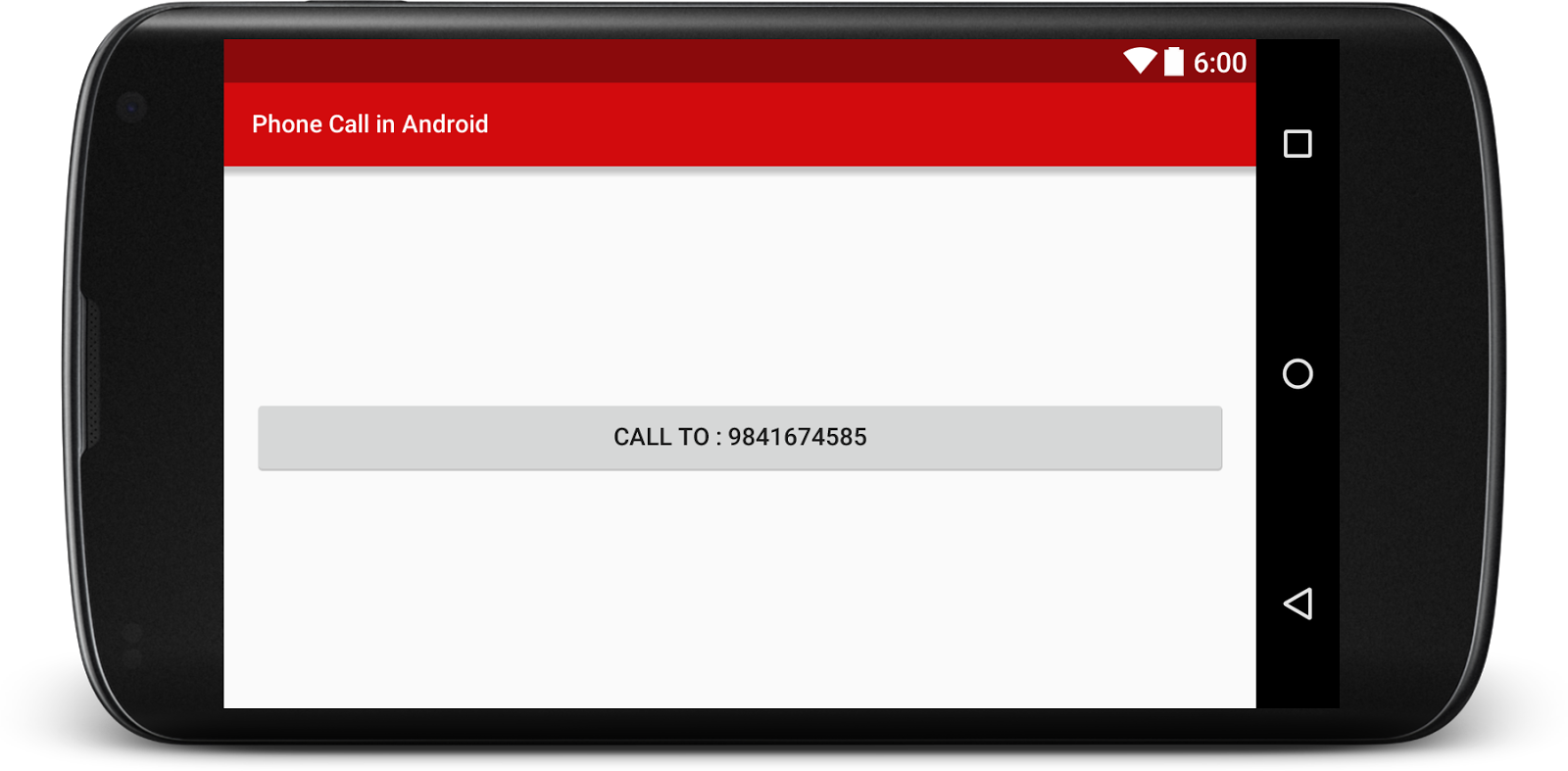 How to Make a Phone Call in Android