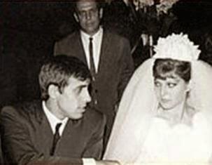 Il matrimonio di Adriano Celentano e Claudia Mori