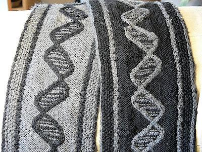 "Шарф ""ДНК"""