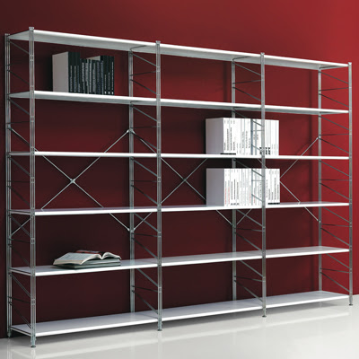 Seaseight design blog mad about metal rack for Scaffalature ikea