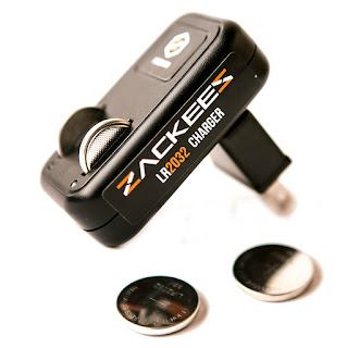 Image: Zackees Rechargeable Coin Cell Charger - Shop USA