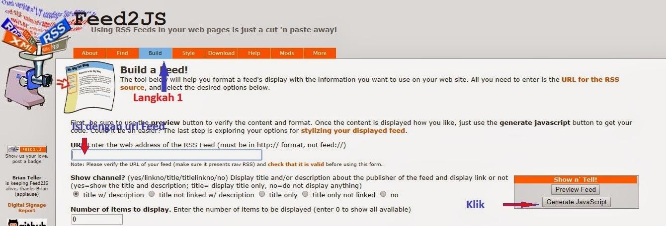 Membuat Sitemap Otomatis di Blogger