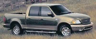Top Line King Ranch Trim Introduced With The F 150 SuperCrew Shown Above Was Made Available For Flareside SuperCab Models 2003