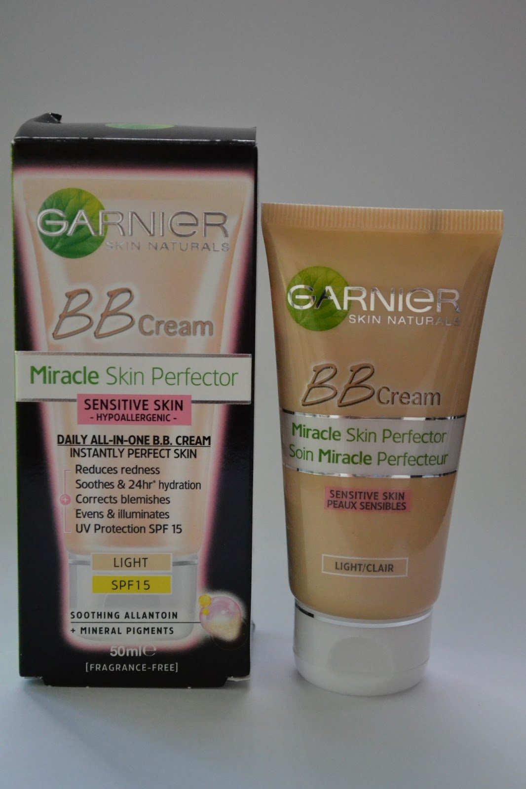 garnier bb cream sensitive skin