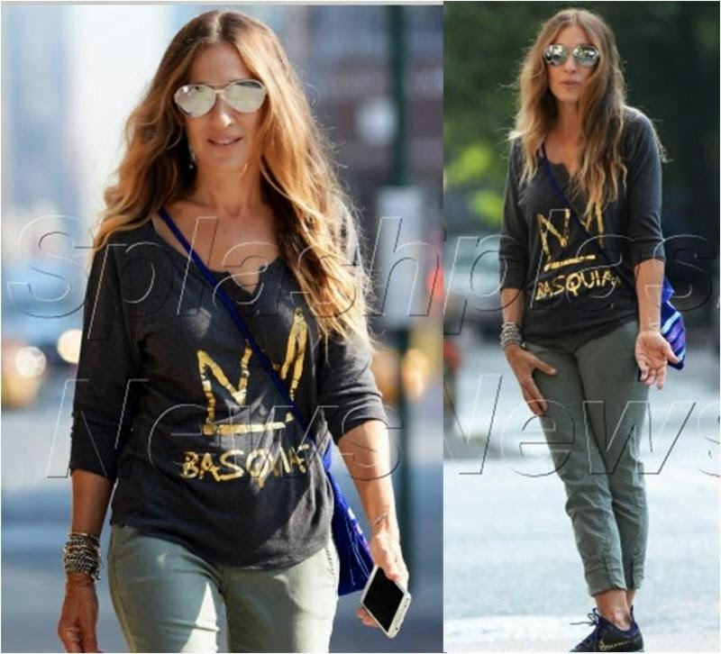 Sarah Jessica Parker in Basquiat Crown Henley