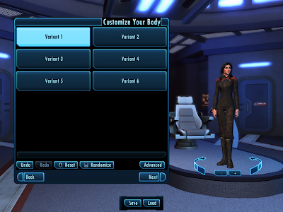 Star Trek Online - Customize Body Simple