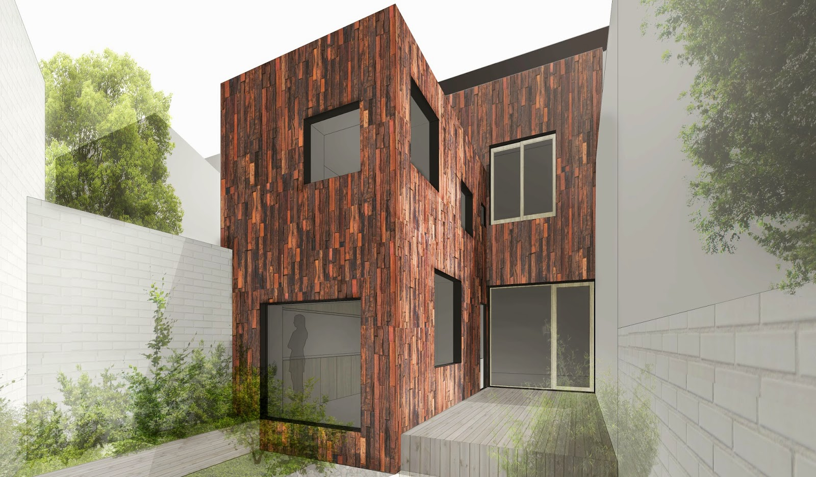 andres gonzalez gil fachada materiales reciclados recycled materials facade