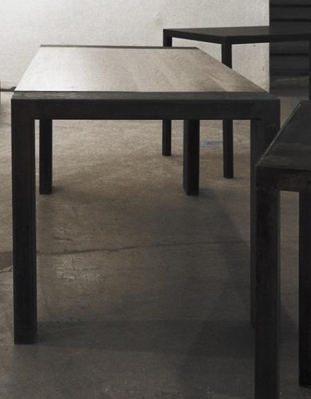 Architettura e design tavoli in ferro e legno for Tavolo legno e ferro