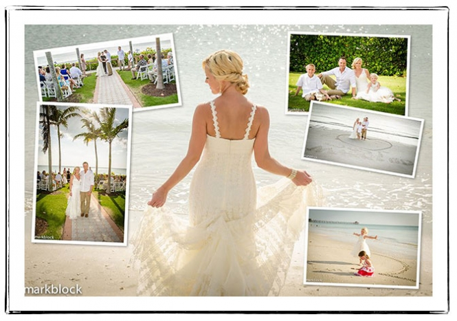 Melissa and Mike Lamoureux | Naples Beach Wedding