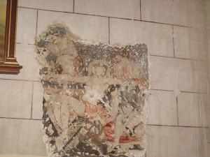 peinture murale du XVe siècle