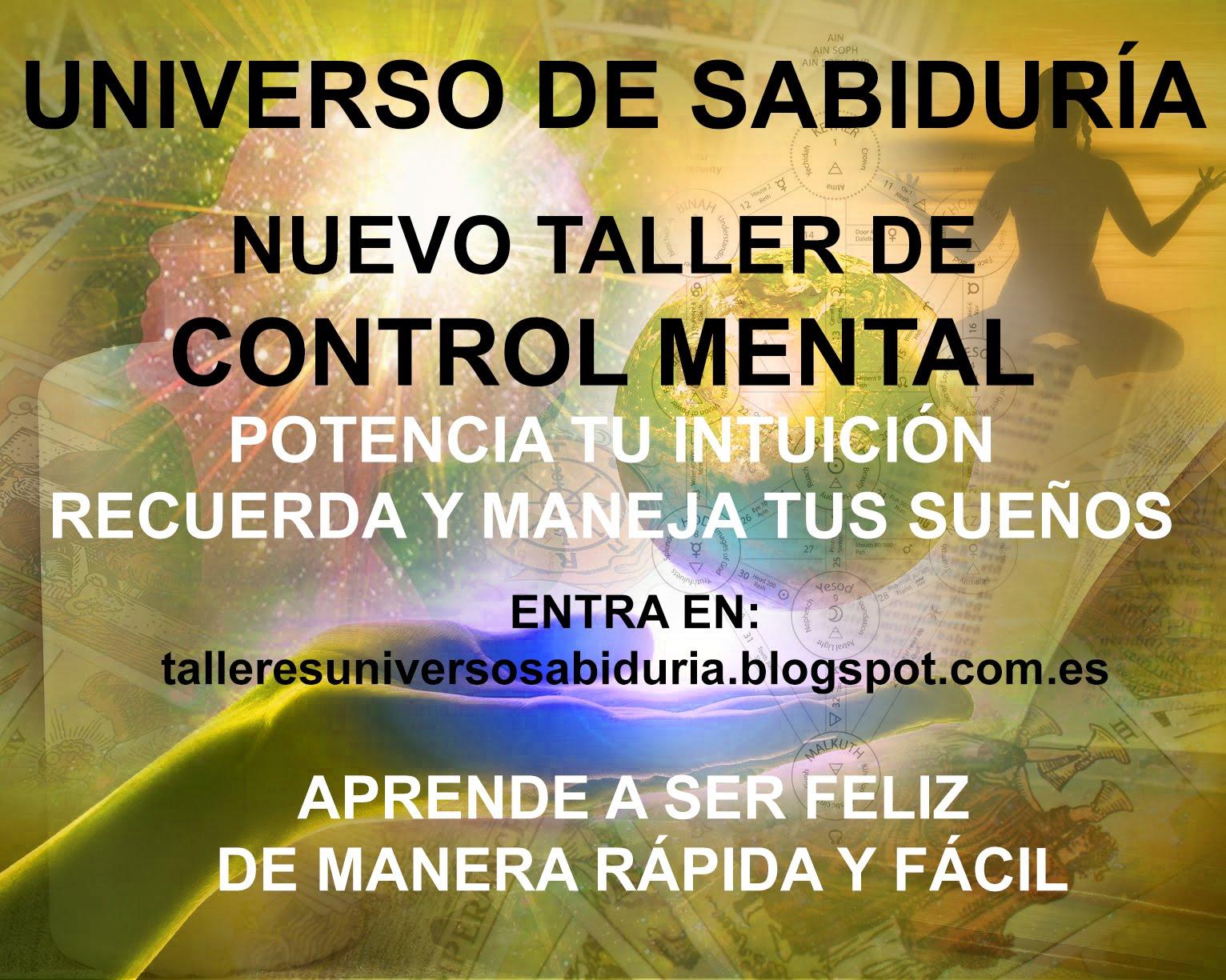 CURSOS Y TALLERES DE CONTROL MENTAL