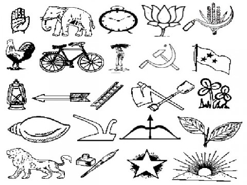 Election Symbols Were Allotted To 144 Political Parties South