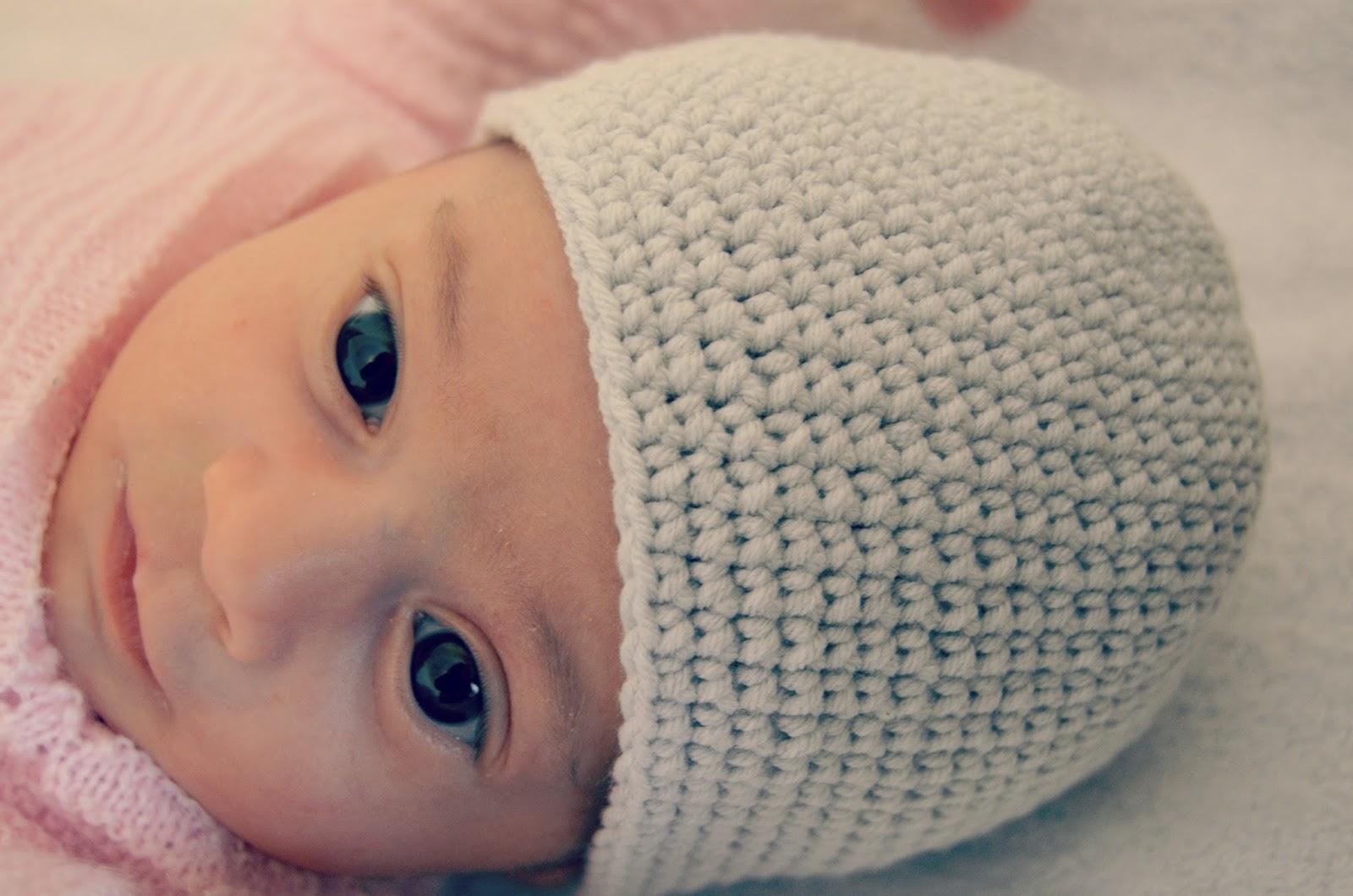Miguga gorrito de ganchillo para beb - Gorritos bebe ganchillo ...