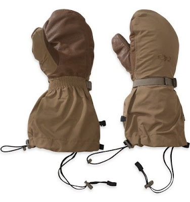 Outdoor Research Firebrand Mitts with Liner, Style 71869OR, Coyote Brn, Lg