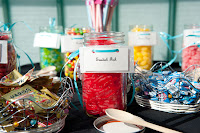 Tameka and Manoj's candy bar at their wedding