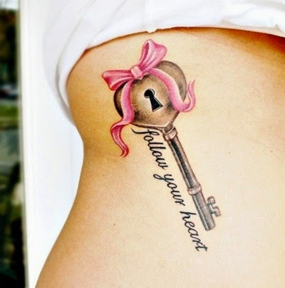 "♥  ♫ ♥ Breast cancer ribbon instead of bow and instead of ""follow your heart"" ""faith hope & love"" ♥  ♫ ♥"