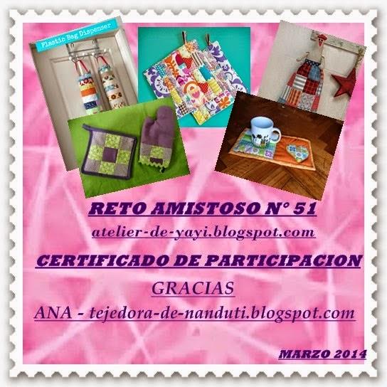 Certificado R.A.nº 51