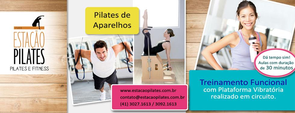 Studio Estação Pilates. Pilates e Fitness.