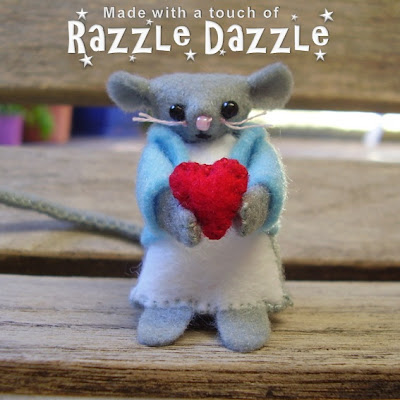 Cute felt mice