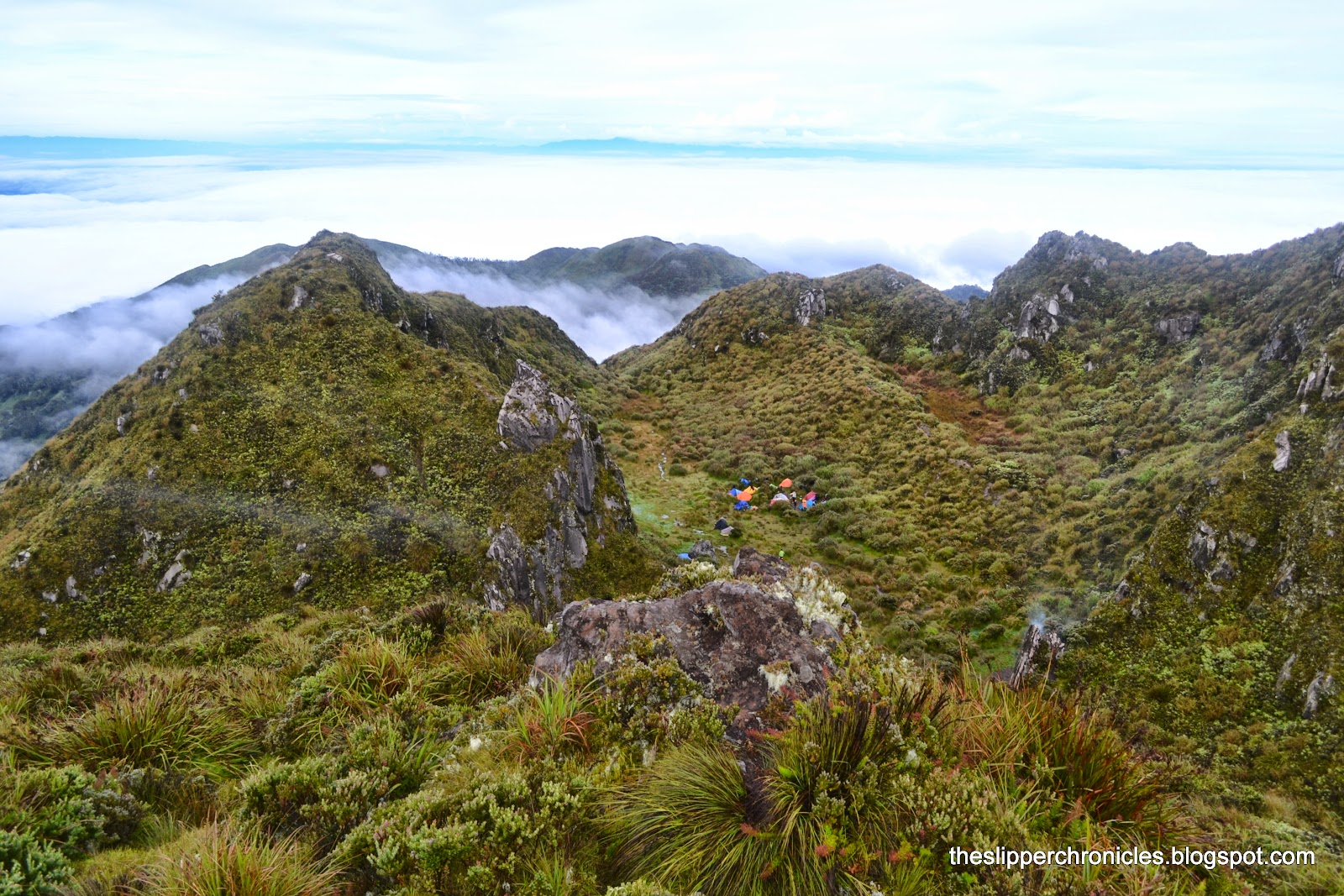 Camping at Mount Apo