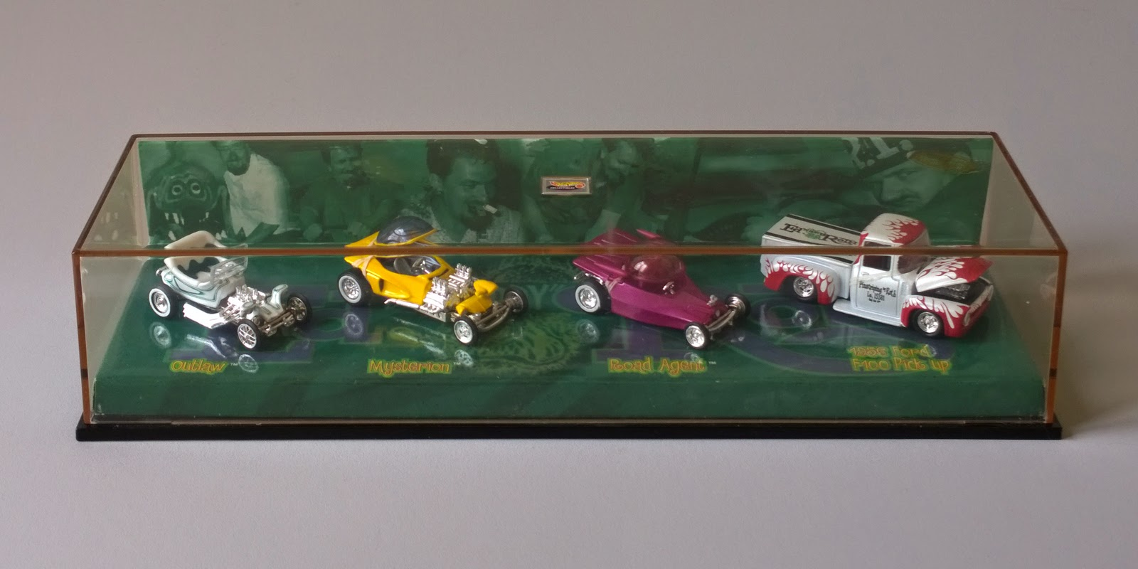 Sixty Four Ever Diecast Ed Quot Big Daddy Quot Roth Car Set By