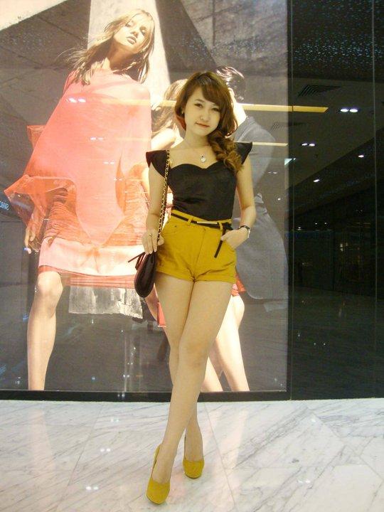 Ngắm hot girl Đăng Thư xinh vô đối