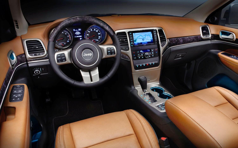 Jeep Grand Cherokee 2014 Interior