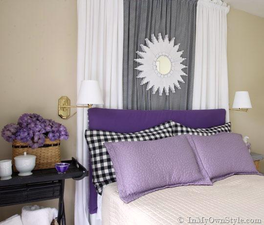 Boiserie c testate da letto fai da te diy splendide - Come fare una testata del letto imbottita ...