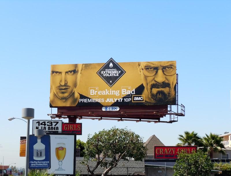 Breaking Bad season 4 billboard