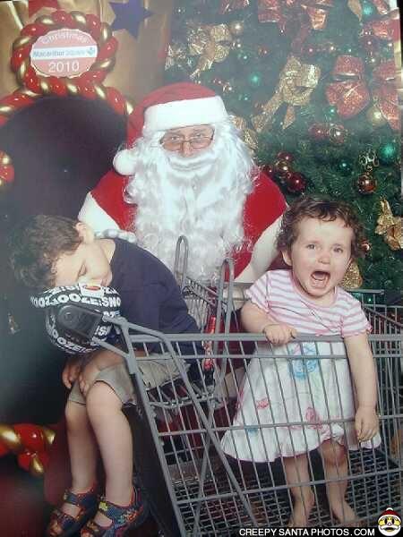 Ghost Hunting Theories Creepy Santa Photos