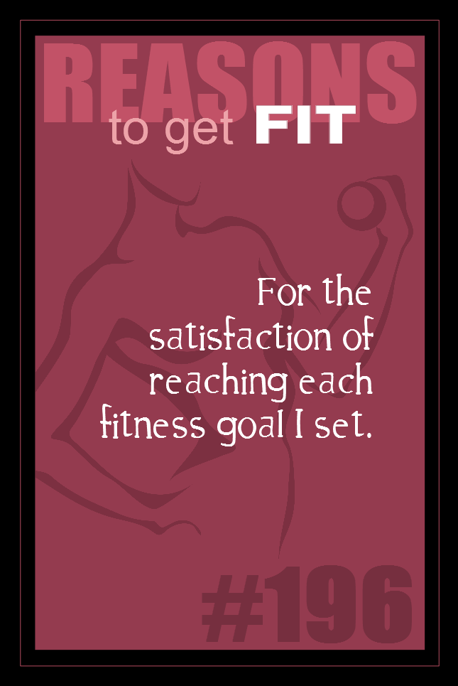 365 Reasons to Get Fit #196