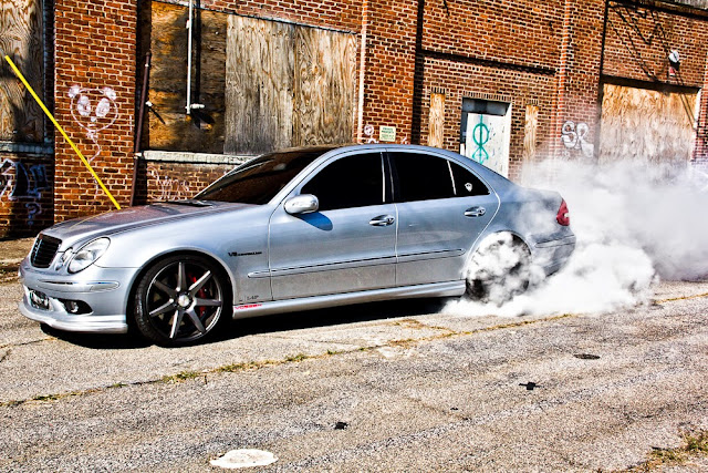 mercedes w211 e 55 amg  chip tuning