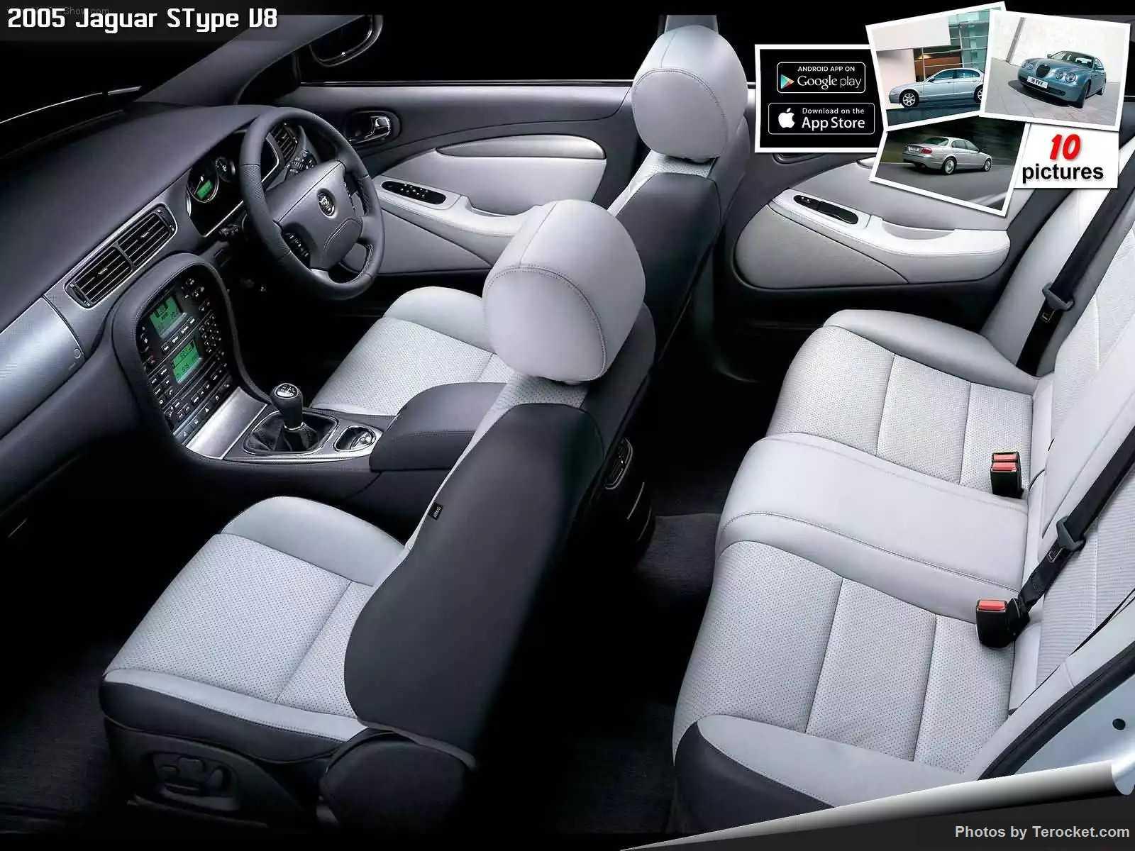 Hình ảnh xe ô tô Jaguar SType V8 2005 & nội ngoại thất