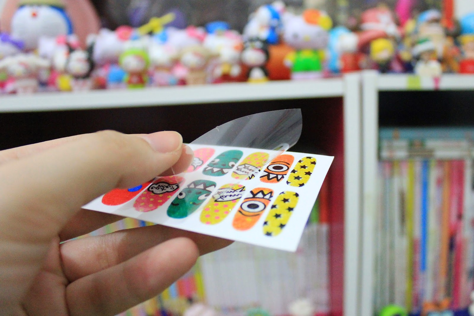 tutu-nail-sticker-review