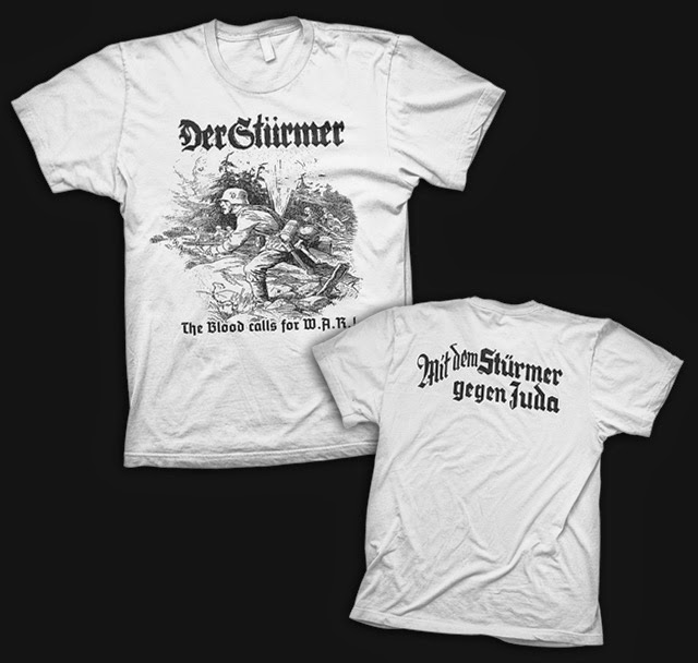"Apostle of Death Records: Der Stürmer t-shirt - ""The Blood"
