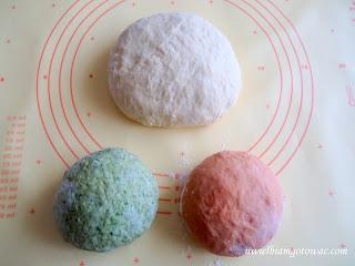 Ravioli trzy kolory