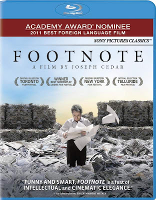 Filme Poster Footnote BDRip XviD Dual Audio &amp; RMVB Dublado