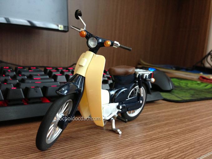 Mô Hình Xe Honda Cub Huyền Thoại