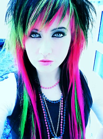 scene hairstyles pictures. Scene Hairstyles for Girls