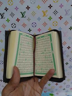 al-quran saku, al-quran pocket