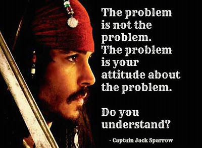 captain jack sparrow quote problem attitude
