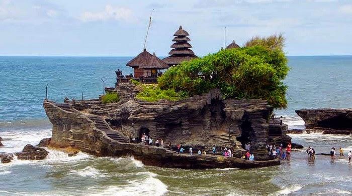 Tanah Lot Temple, Tabanan, Bali Indonesia