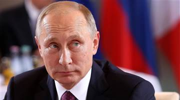 PUTIN TAKES UP RESIDENCE IN CLINTON'S HEAD?
