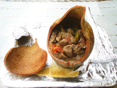 Image result for turkish clay pot kebab