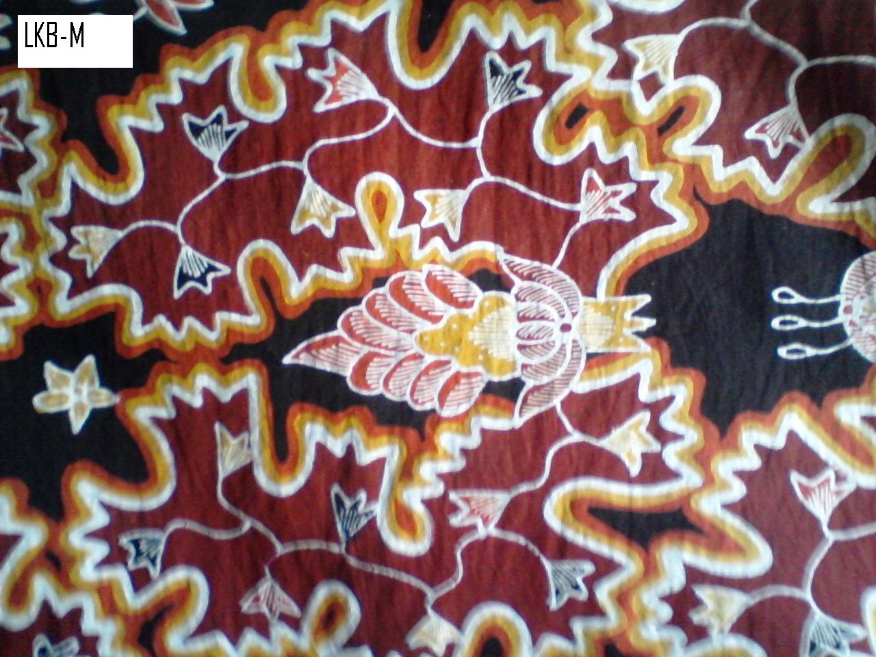 Batik Tulis halus motif Temblog berbayang