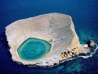 Playa Escondida en Islas Marietas (México)