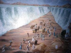 Sekali saja laut dibelah oleh Musa