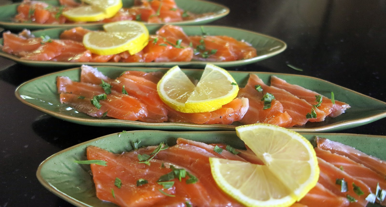 Ambiances et gourmandises de mj gravlax de saumon et - Saumon gravlax rapide ...