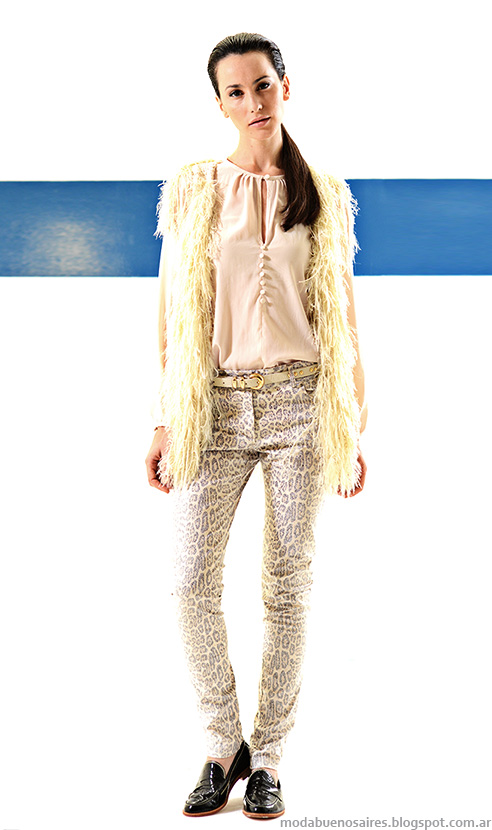Mancini otoño invierno 2014 blusas de moda invierno 2014.